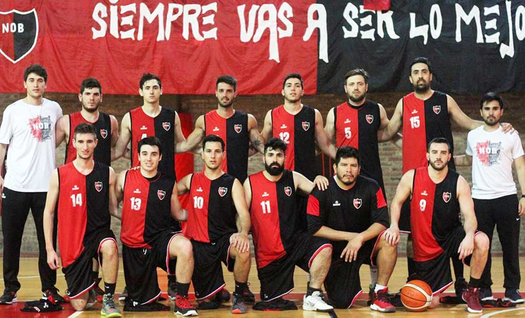 Basquet: con Felipe Fernandez, Newell´s ascendió a la Liga A2 rosarina