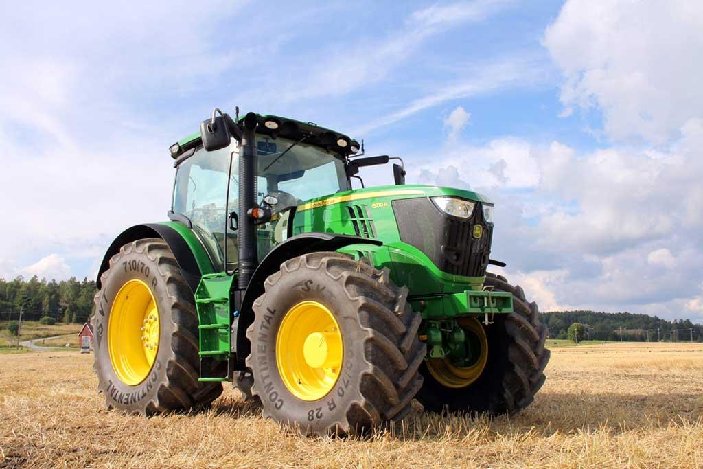 Aumentó mucho la importación de tractores