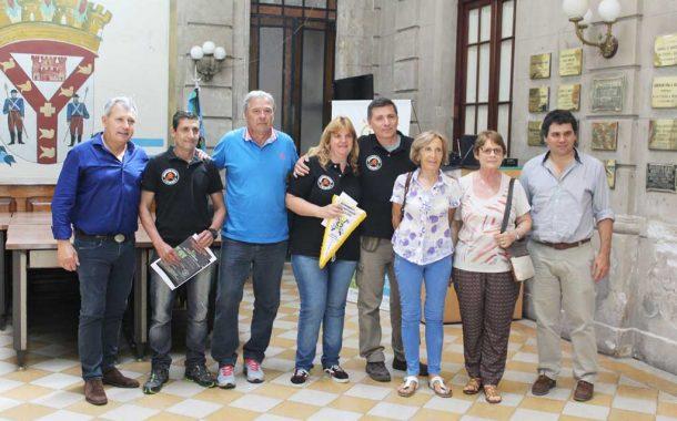 La Asociación de Ciclistas realizó donación a Bomberos y APEC