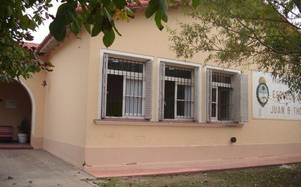 La escuela de Rafael Obligado recibió una donación de 127.000 pesos para realizar trabajos edilicios