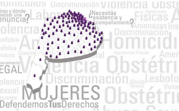 Presentan mapa online provincial para asesorar a víctimas de violencia de género