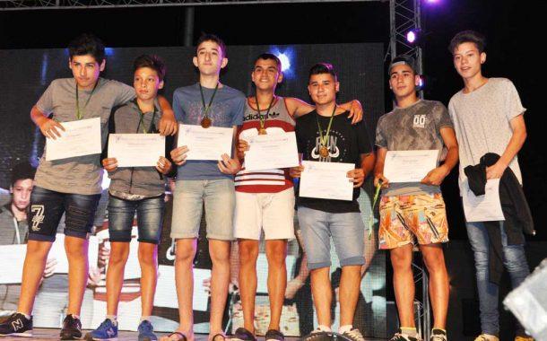 Fiesta del deporte 2017: Menciones a divisiones juveniles