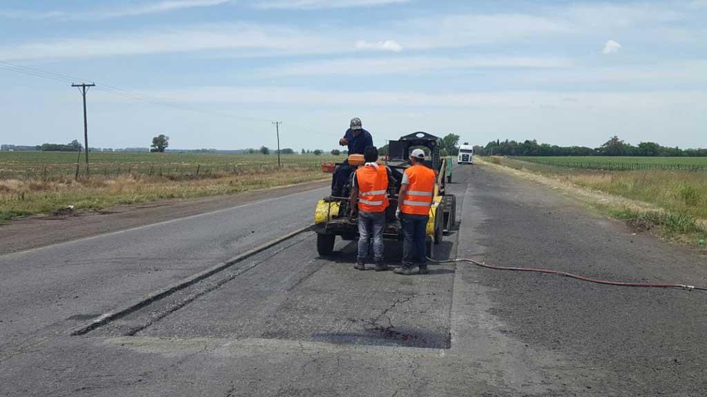 Por la obra pública, hubo un histórico consumo récord de asfalto vial