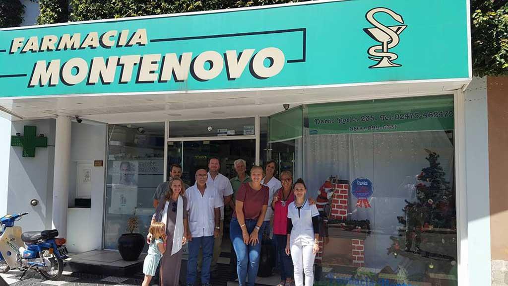 Farmacia Montenovo ganó el concurso de vidrieras navideñas
