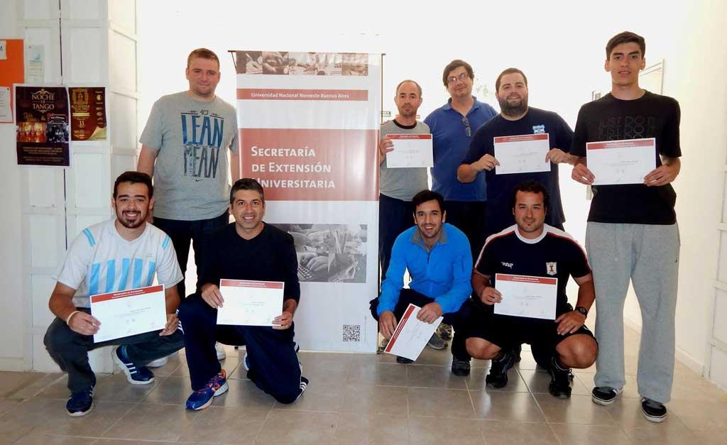 Oferta de capacitación de la Dirección de Deportes de la UNNOBA