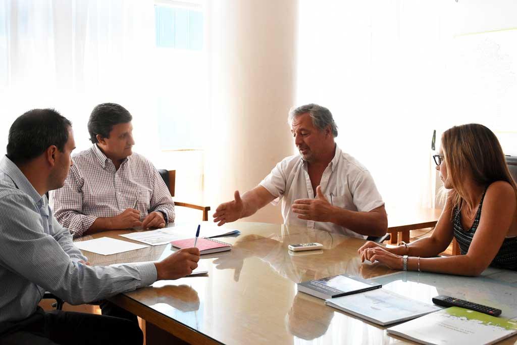 Reunión en el Ministerio de Infraestructura