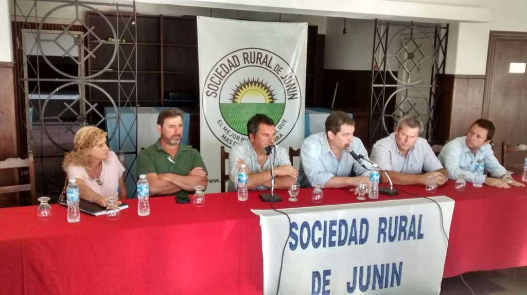 Las entidades agropecuarias solicitan declaración de emergencia vial en Junin