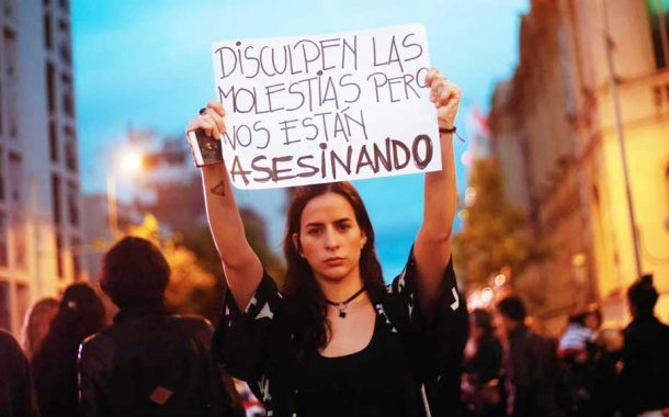 Una mujer fue asesinada cada 30 horas en Argentina durante 2017