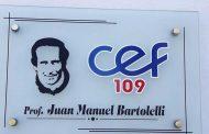 Se le impuso el nombre de Manuel Bartolelli al CEF 109