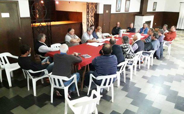 Junín: Reunión de evaluación de trabajos viales durante el mes de marzo