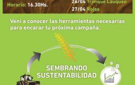 Rojas y Trenque Lauquen serán sedes de la Semana Provincial del Trigo/Cebada