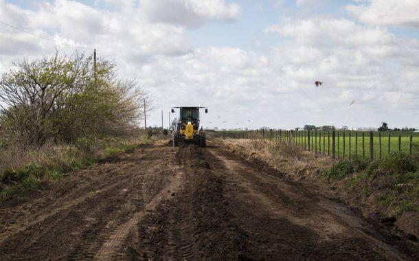 Corte de los caminos rurales 276 y 277