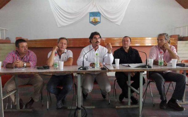 Provincia analizó opciones de financiamiento con productores de Coninagro