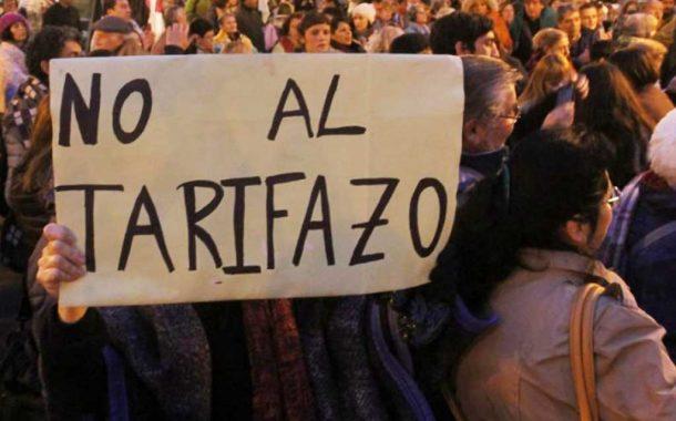 "Masivo ""Ruidazo"" contra el ""tarifazo"""