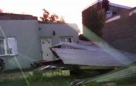 Un fuerte temporal provocó destrozos en varios distritos bonaerenses