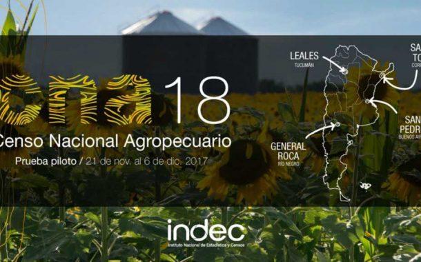 Lanzan en Lobos el Censo Nacional Agropecuario 2018