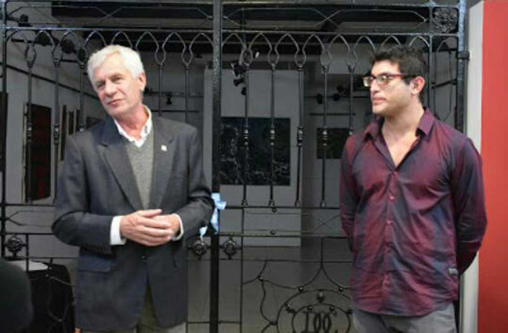 Eliseo Delbado expone sus trabajos en el Centro Cultural Ernesto Sábato