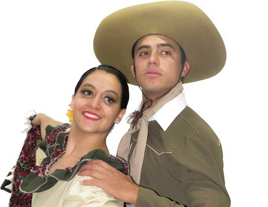 Jóvenes rojenses representan a Argentina en el Festival Internacional de Danza Patrimonial de Costa Rica