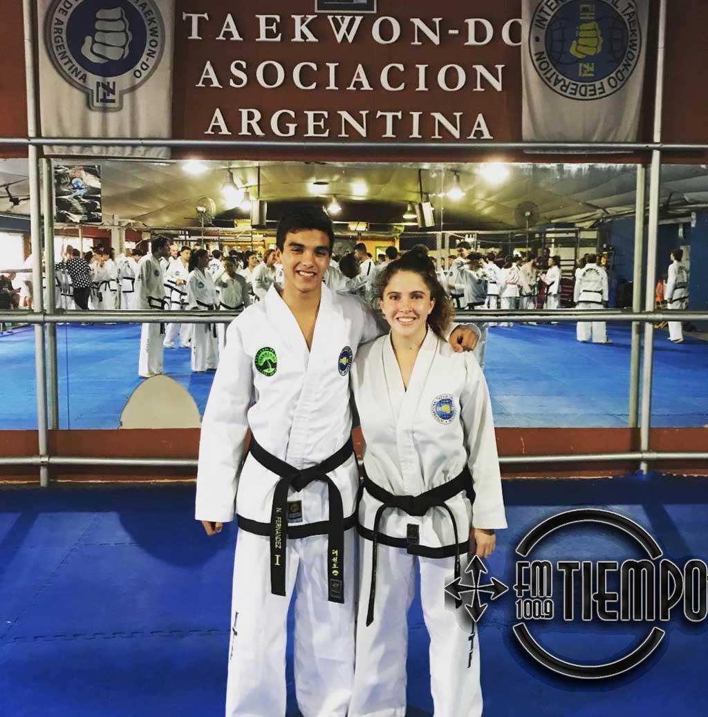 Taekwondo: Fernández y Mai entrenaron con la selección nacional