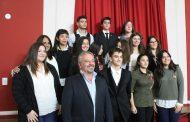 El Intendente distinguió a quienes participaron del proyecto del G20 estudiantil