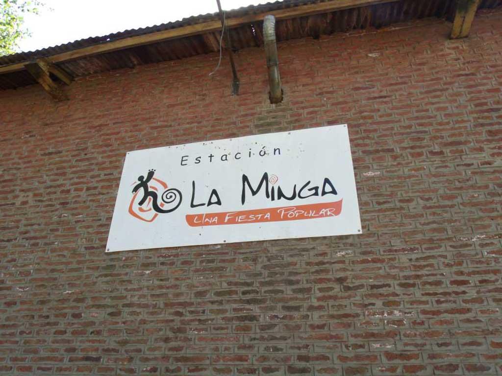 CineClub de La Minga: prácticas productivas y de consumo saludables
