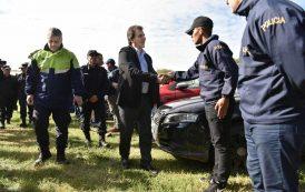 """""""Estamos dando lucha contra las mafias organizadas y el narcotráfico"""""""