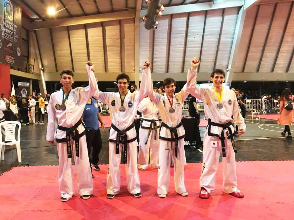 "Taekwon-do: rojenses participaron de la ""La Copa Challenger"" en Lomas de Zamora"