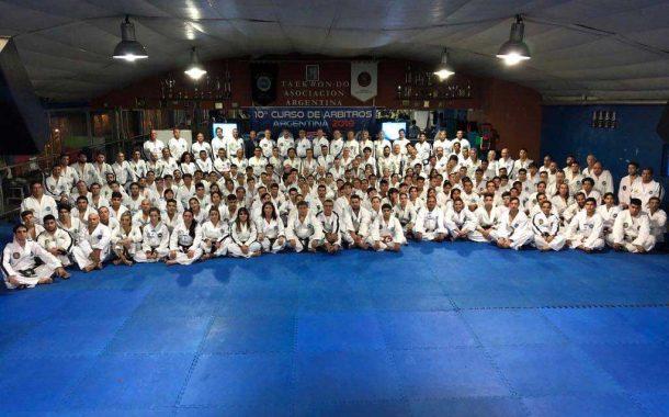 Taekwon-do: rojenses estuvieron presentes en el 10mo Curso Nacional de Árbitros y Jueces