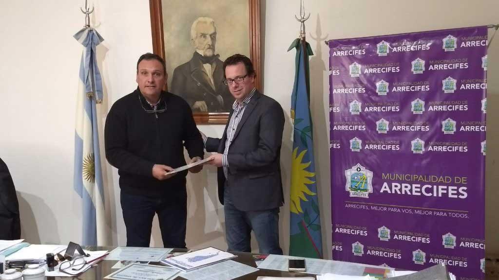 Olaeta firmó un convenio con el Consejo Federal de DDHH