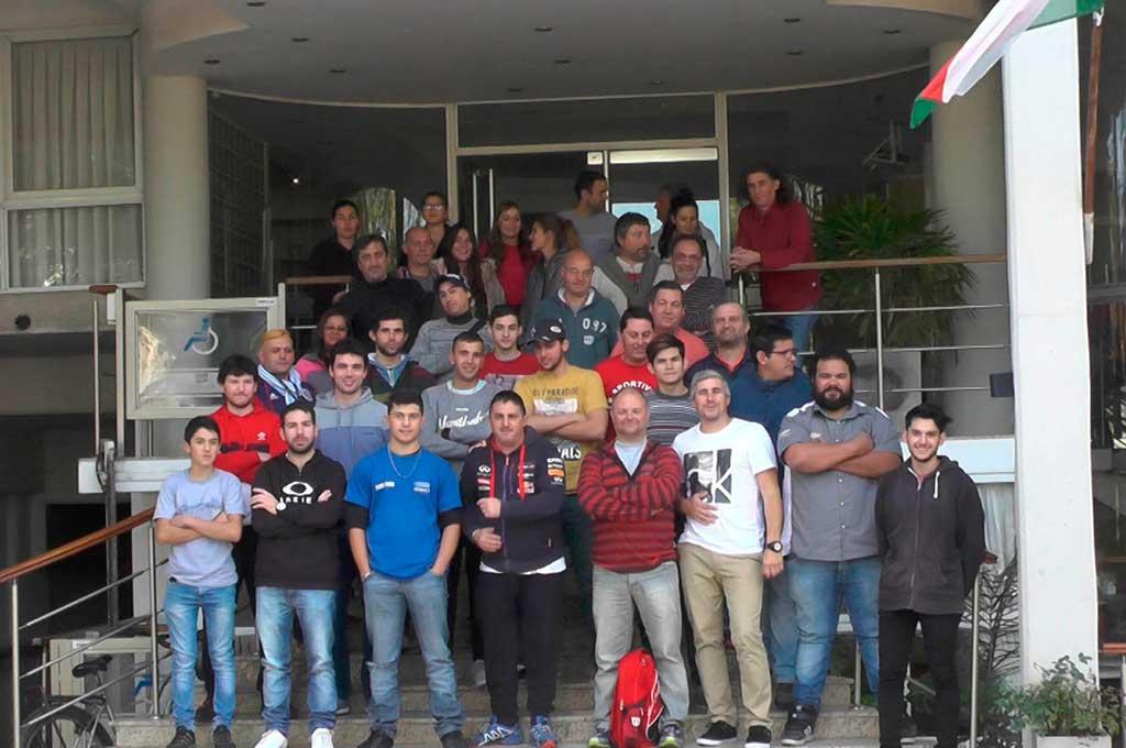 Exitoso curso para navegantes de rally en Casilda