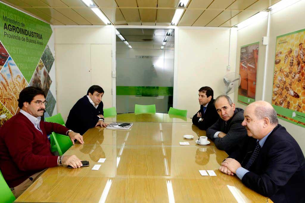 Agroindustria y la UNLP acordaron trabajar en conjunto
