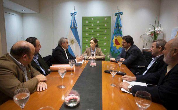 Vidal recibió en La Plata a la cúpula de CONINAGRO