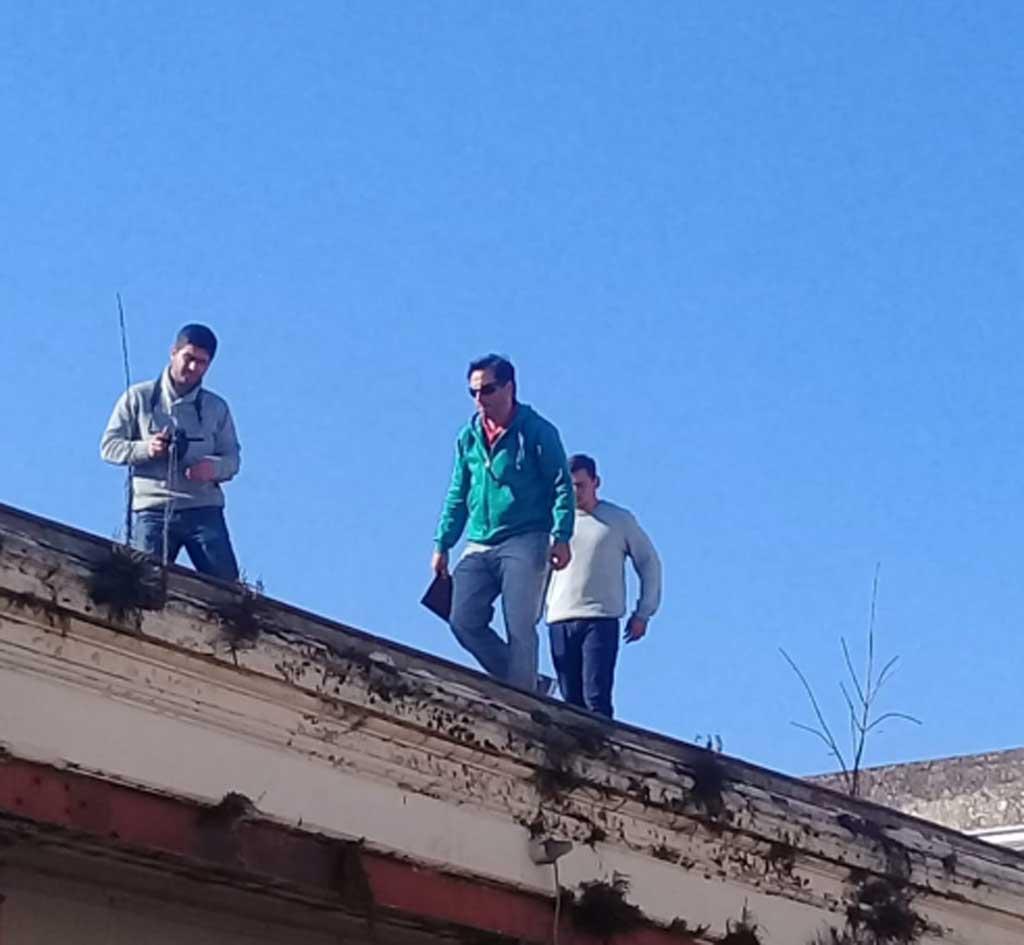 Integrantes de la Dirección Provincial de Museos y Preservación del Patrimonio visitaron la Escuela 1