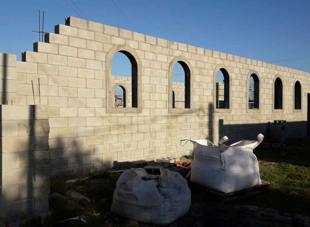 A paso firme, continúa la construcción de la capilla de la Medalla Milagrosa