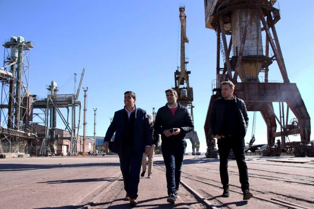 Oficializan creación del Consorcio de gestión en el puerto San Nicolás