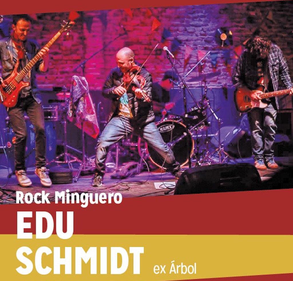 Rock en La Minga con Edu Schmidt, ex integrante de Árbol