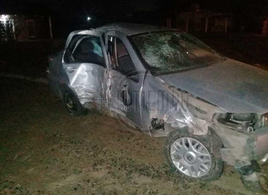 Accidente en barrio Progreso