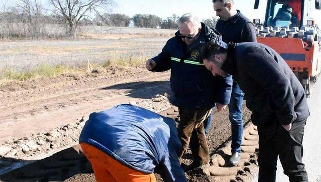 Reconstrucción de la Ruta Nº 30: Realizaran ampliación de acceso a Los Indios
