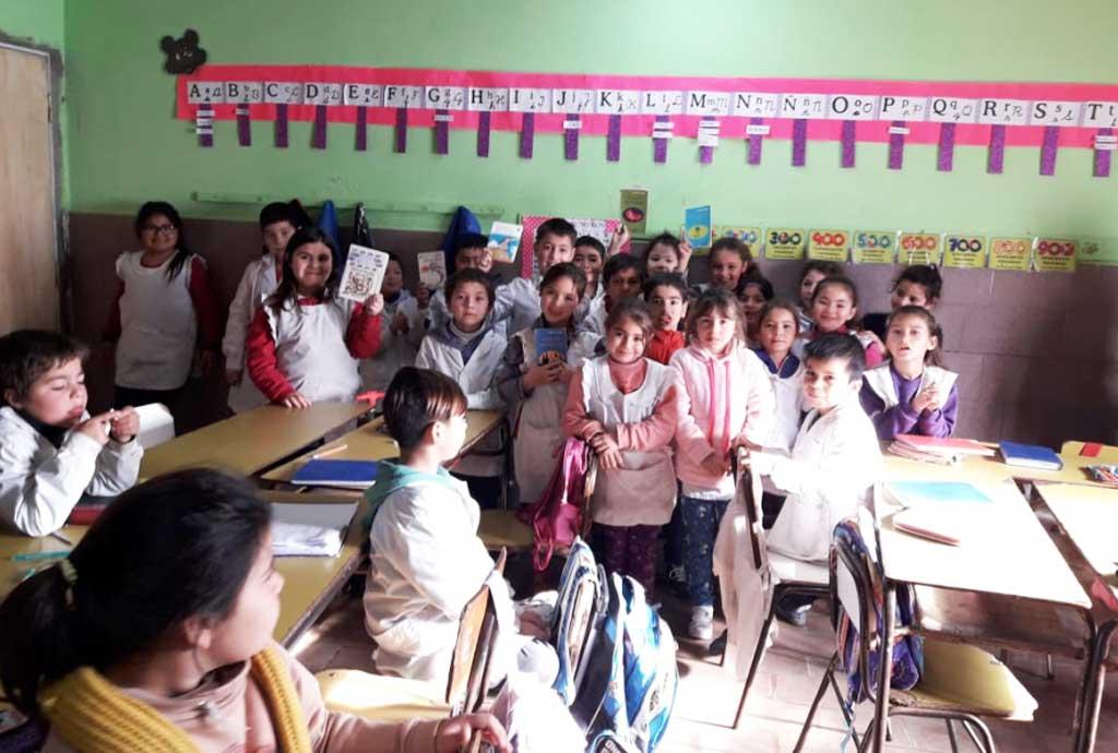 La Escuela Nº15 implementa un interesante proyecto para fomentar la lectoescritura