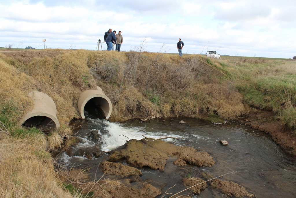 Hunter: Se realizará una alcantarilla de dos tramos para escurrimiento de agua