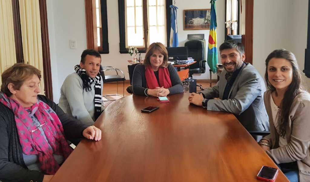 Revilla se reunió con el director provincial de Consejos Escolares