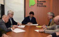 Sarquís firmó convenios con las cuatro cadenas de valor agroindsutrial