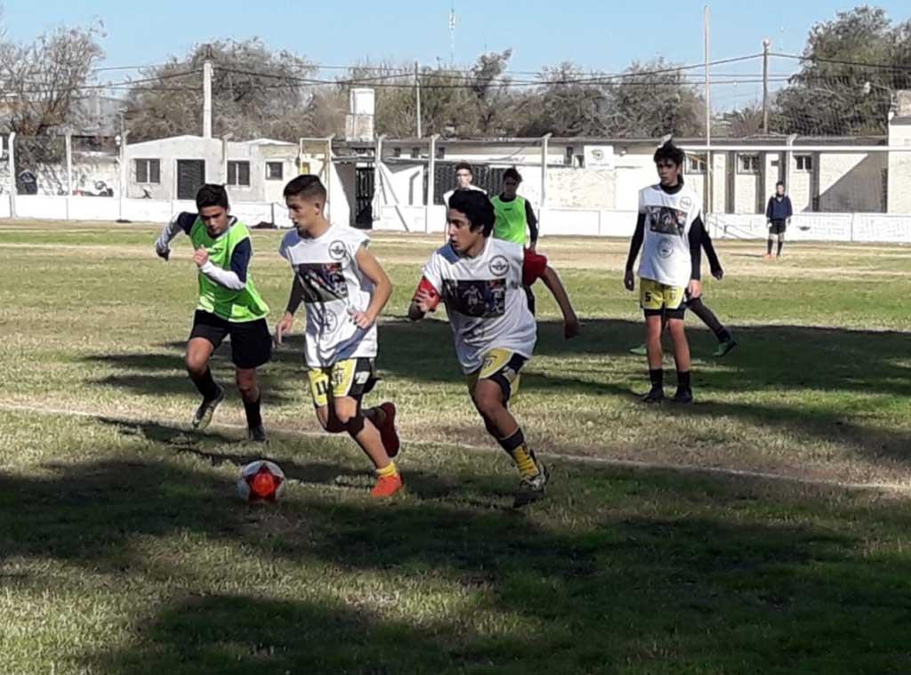 Fútbol: la selección sub 15 continúa con su puesta a punto