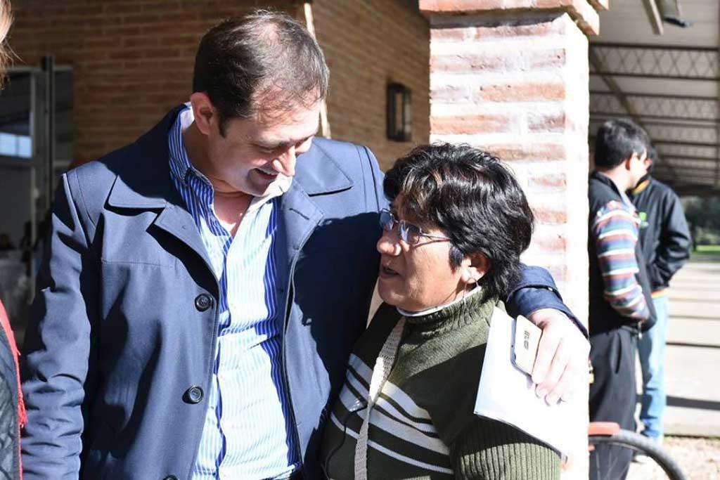 Serenal presentó la ampliación de la red de gas natural en el barrio La Rural