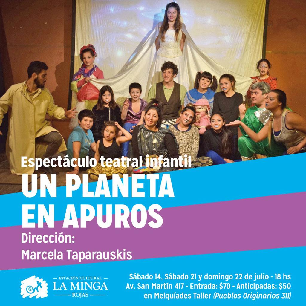 """""""Un planeta en apuros"""": Espectáculo teatral infantil de los """"Mingueritos"""""""