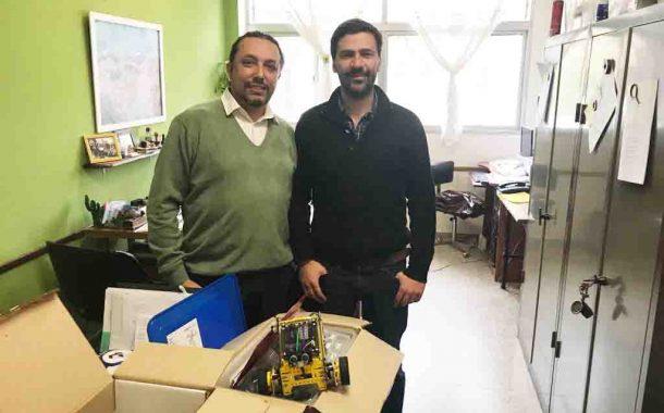 Escuelas de la Provincia siguen sumando kits de robótica
