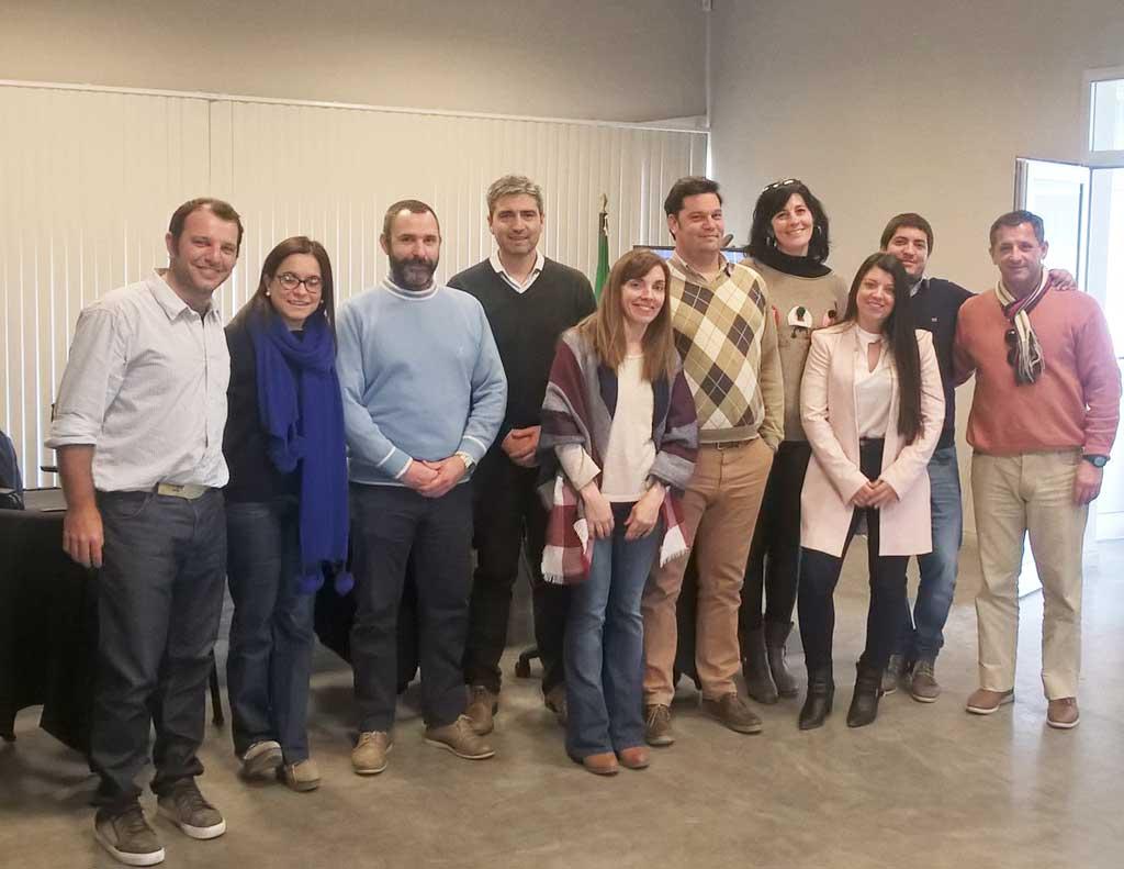 Breitshmitt participó del segundo encuentro del Grupo RIL
