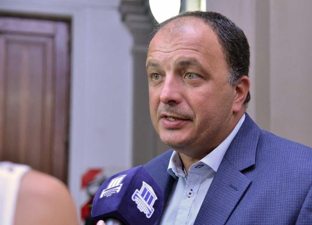 Pablo Garate propuso abordar la problemática de amenazas de bomba en las escuelas