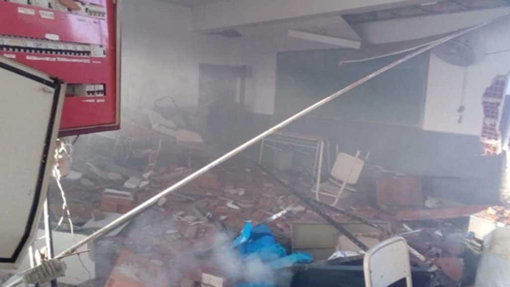 Docentes paran mañana por la explosión en la escuela de Moreno