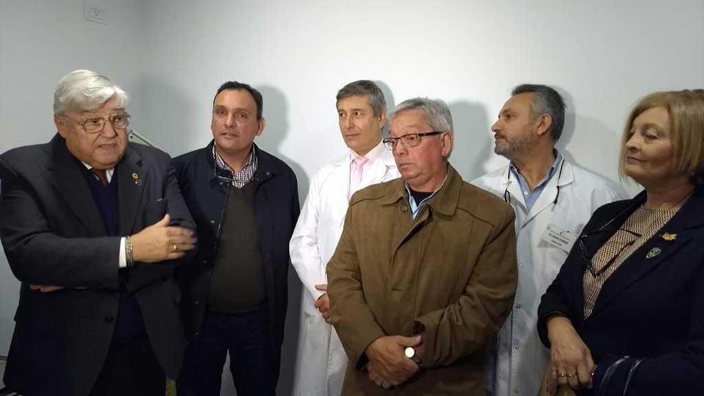 Olaeta inauguró el nuevo centro de oftalmología de Arrecifes
